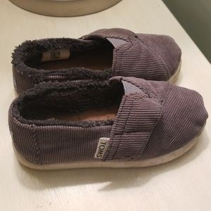 Toms Shoes - Toms kids velcro slip ons